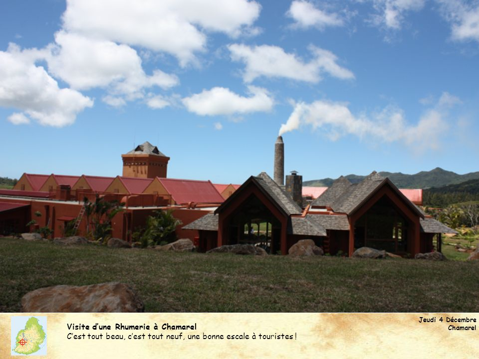 Visite d'une Rhumerie à Chamarel
