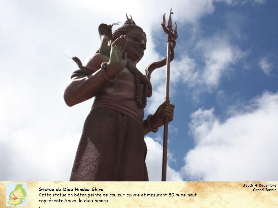  Statue du Dieu Hindou Shiva