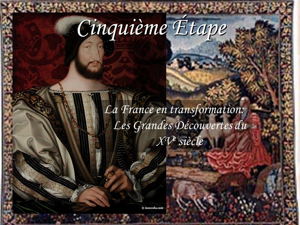 La France en transformation: Les Grandes Découvertes du XVe siècle