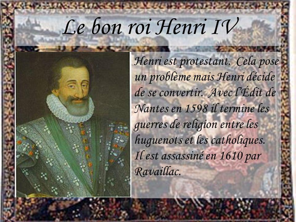 Le bon roi Henri IV