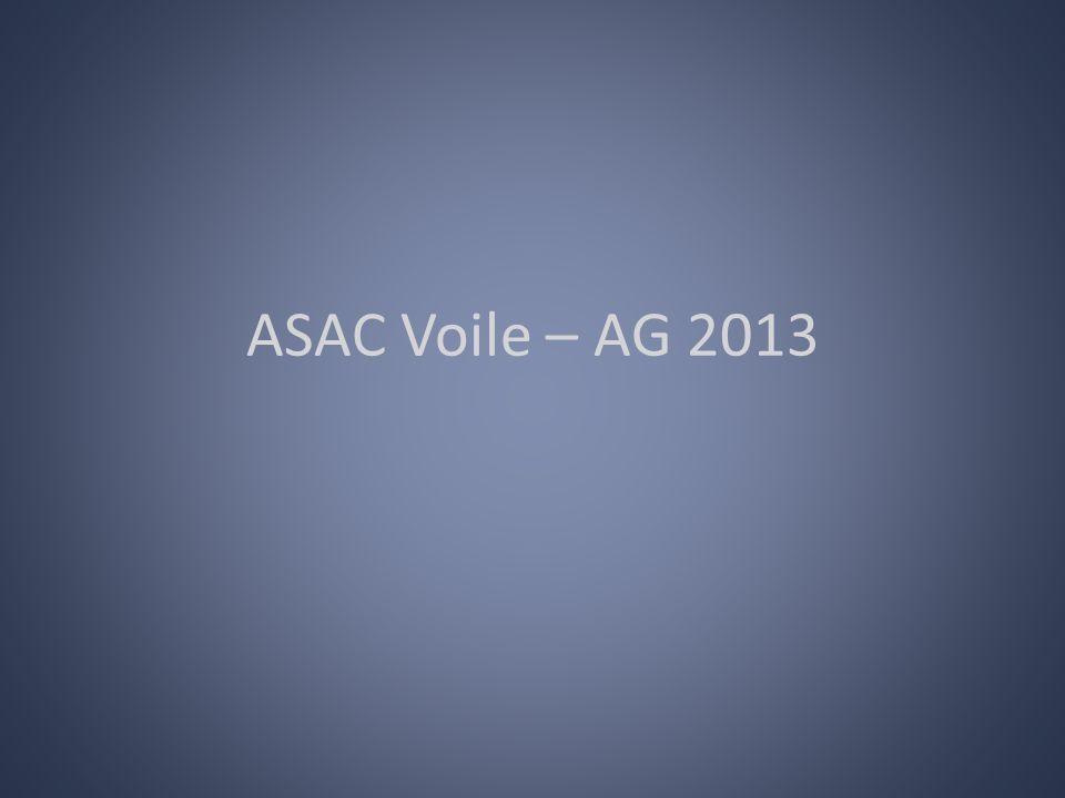 ASAC Voile – AG 2013