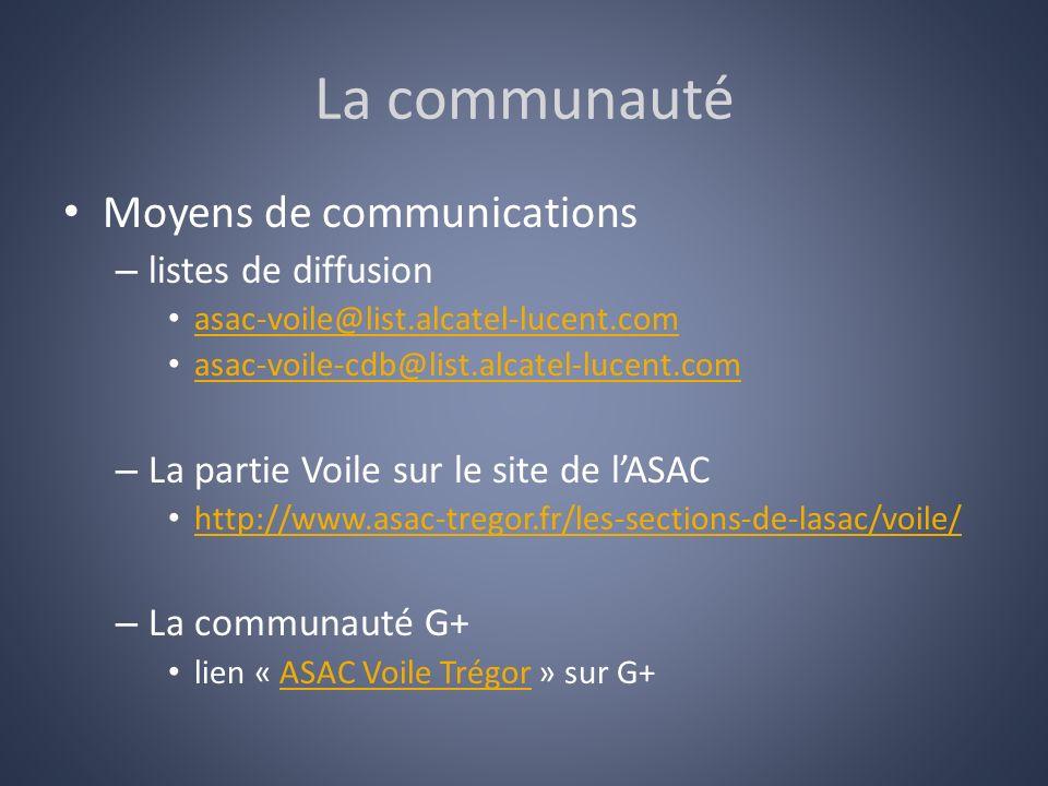 La communauté Moyens de communications listes de diffusion