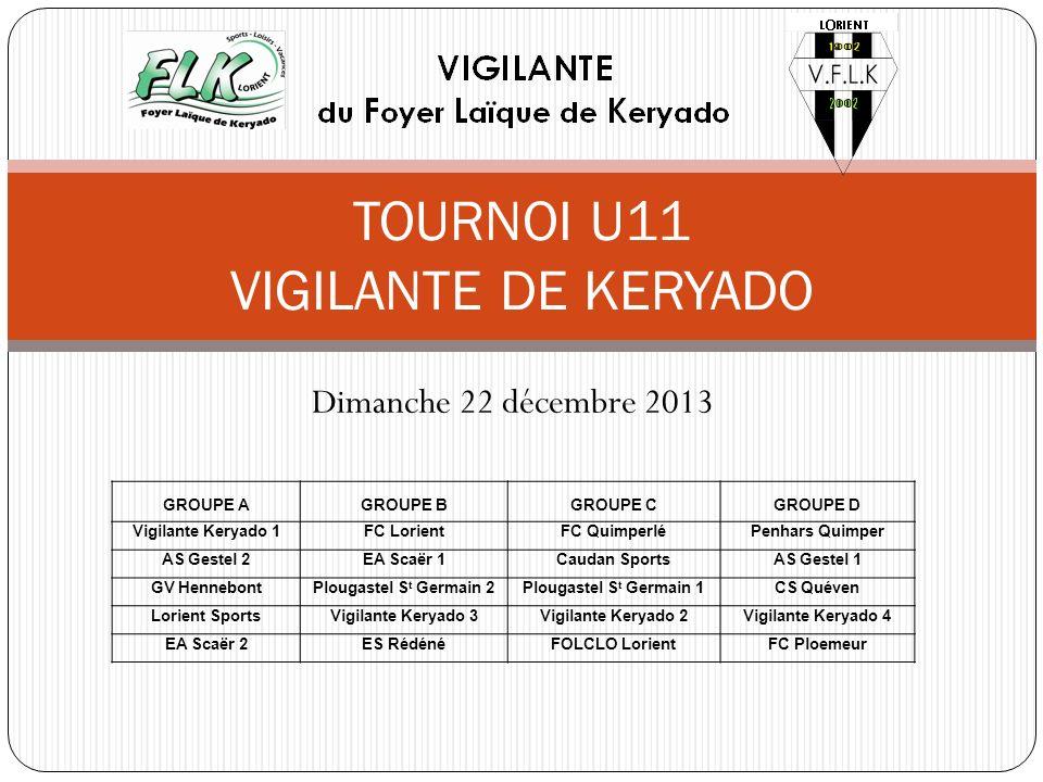 TOURNOI U11 VIGILANTE DE KERYADO