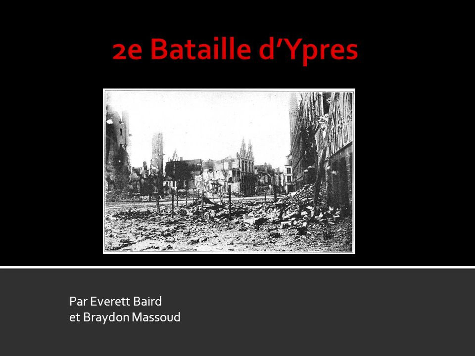 Par Everett Baird et Braydon Massoud