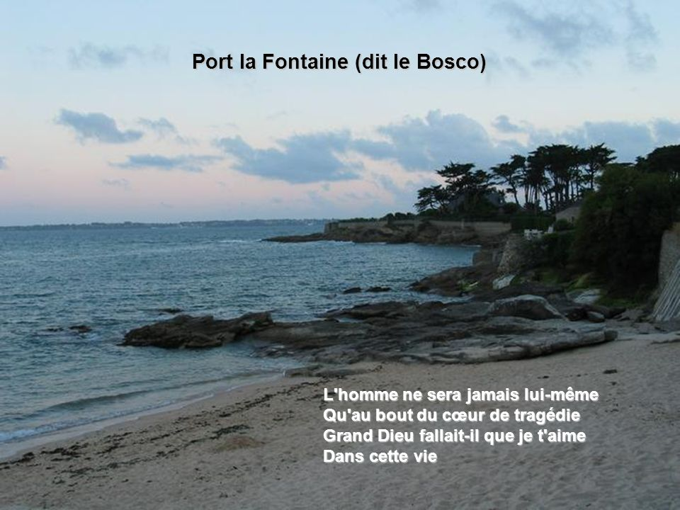Port la Fontaine (dit le Bosco)‏