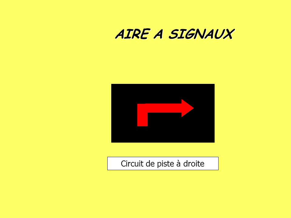 Circuit de piste à droite