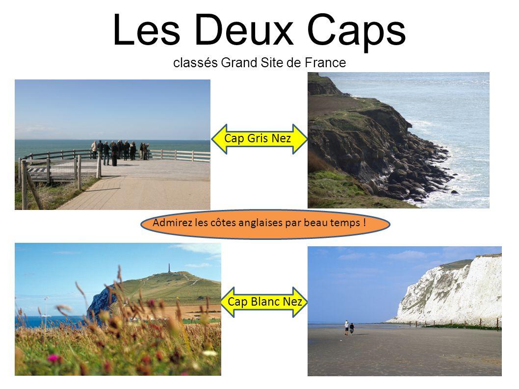 Les Deux Caps classés Grand Site de France Cap Gris Nez Cap Blanc Nez