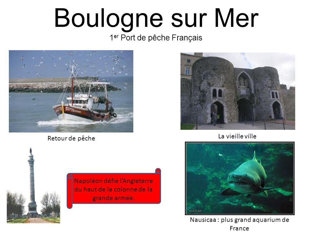 Boulogne sur Mer 1er Port de pêche Français La vieille ville