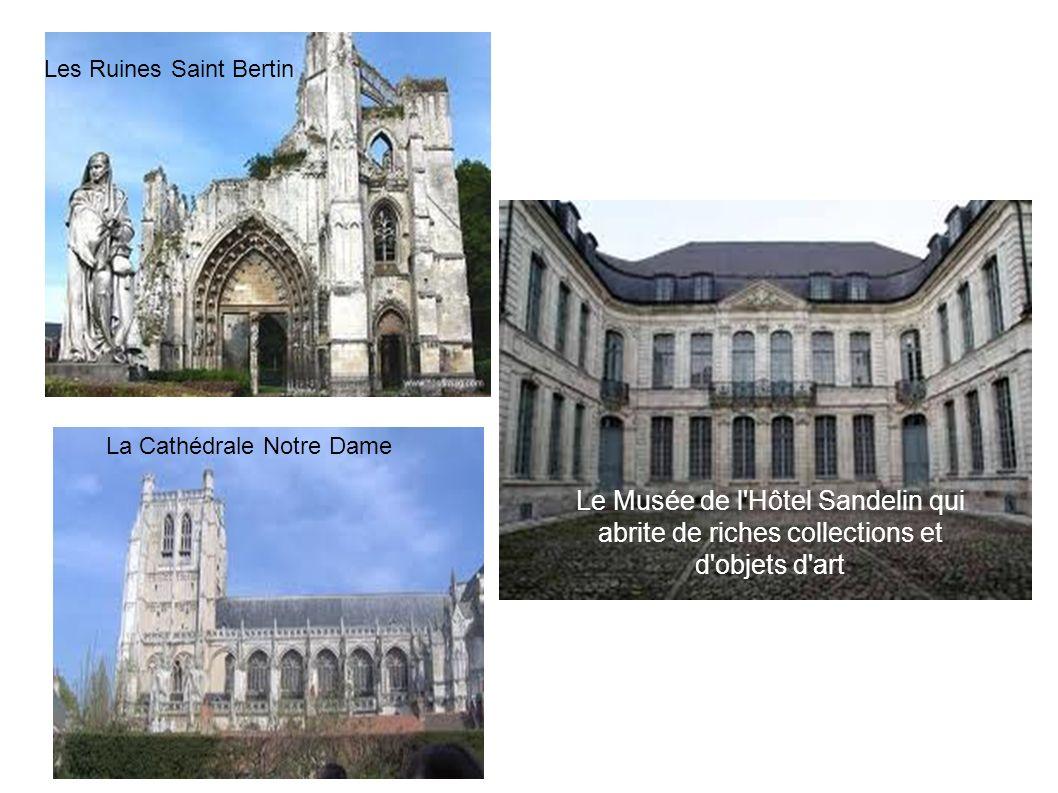 Les Ruines Saint Bertin