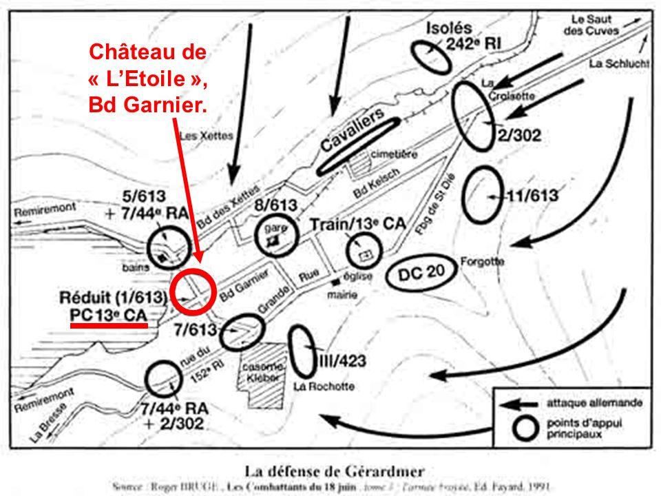 Château de « L'Etoile », Bd Garnier.