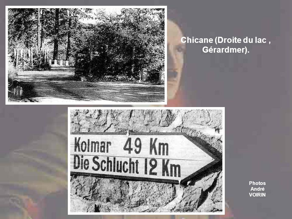 Chicane (Droite du lac , Gérardmer).