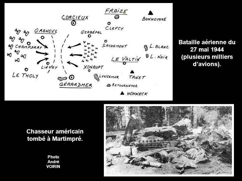 Bataille aérienne du 27 mai 1944 (plusieurs milliers d'avions).