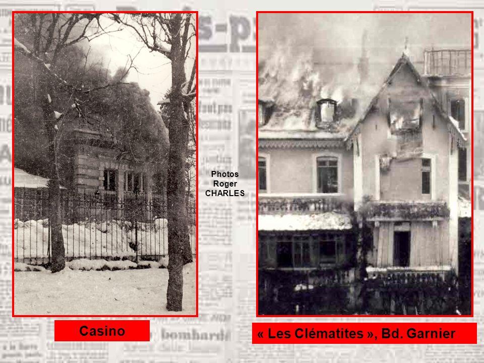 « Les Clématites », Bd. Garnier