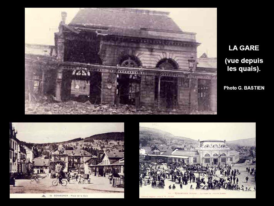 LA GARE (vue depuis les quais).