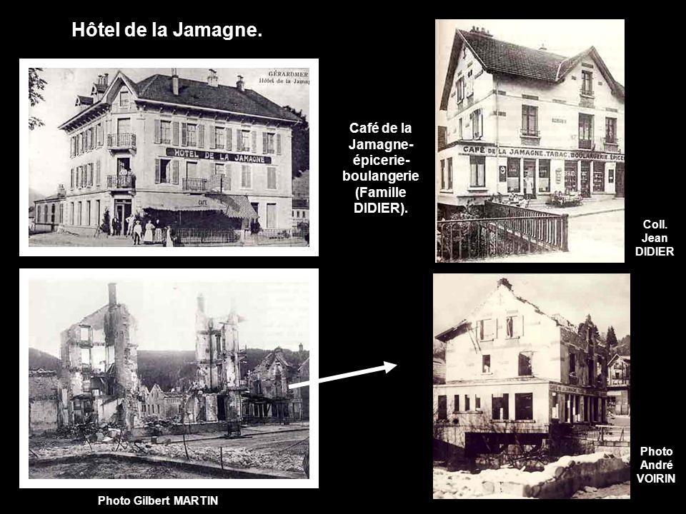 Café de la Jamagne- épicerie-boulangerie (Famille DIDIER).