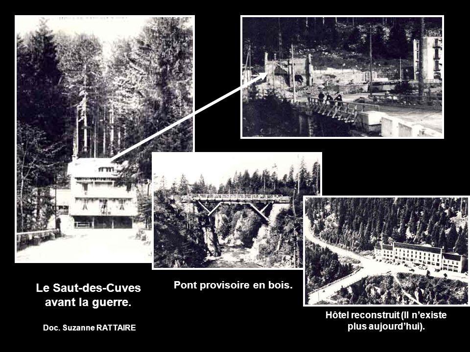 Le Saut-des-Cuves avant la guerre.