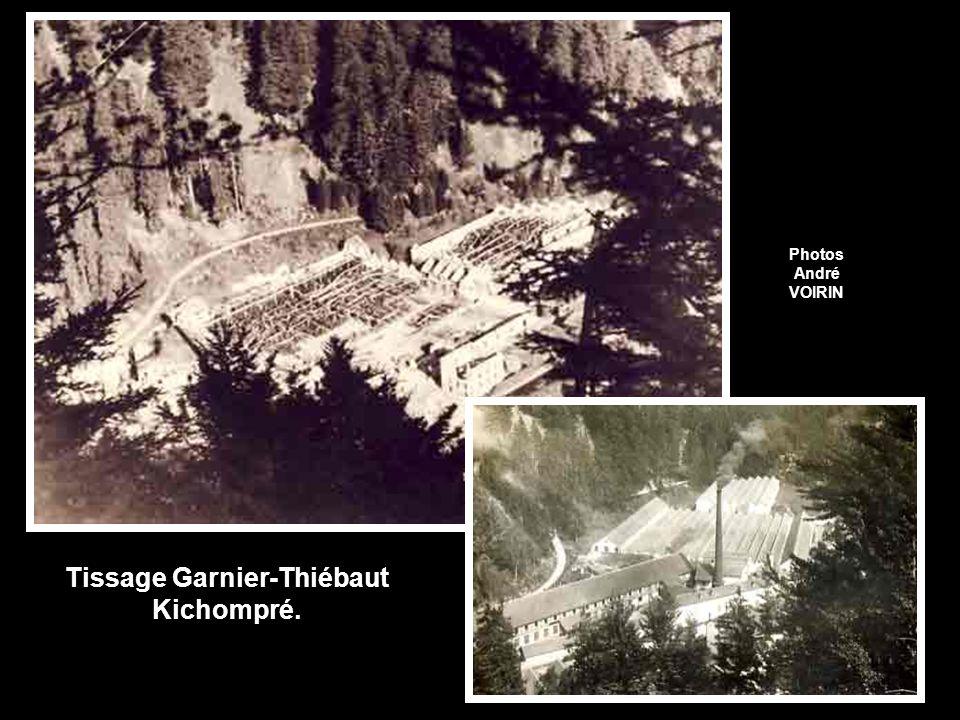 Tissage Garnier-Thiébaut Kichompré.