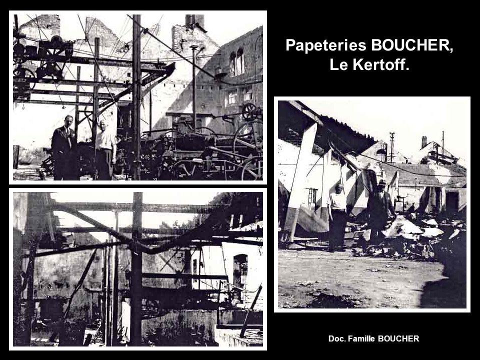 Papeteries BOUCHER, Le Kertoff.