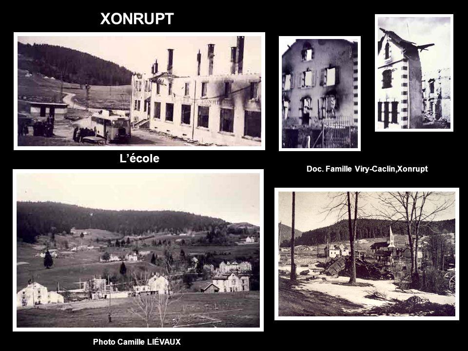 XONRUPT L'école Doc. Famille Viry-Caclin,Xonrupt Photo Camille LIÉVAUX