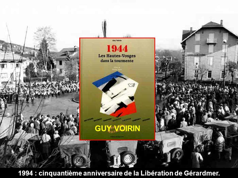 1994 : cinquantième anniversaire de la Libération de Gérardmer.