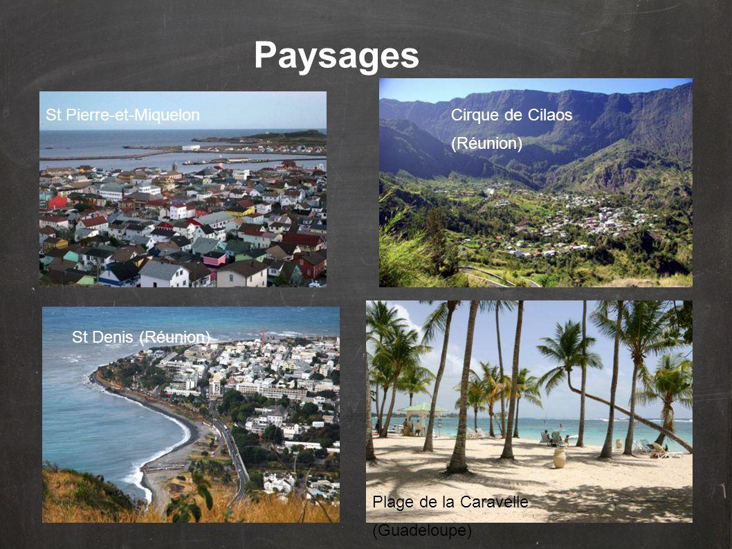 Paysages St Pierre-et-Miquelon Cirque de Cilaos (Réunion)
