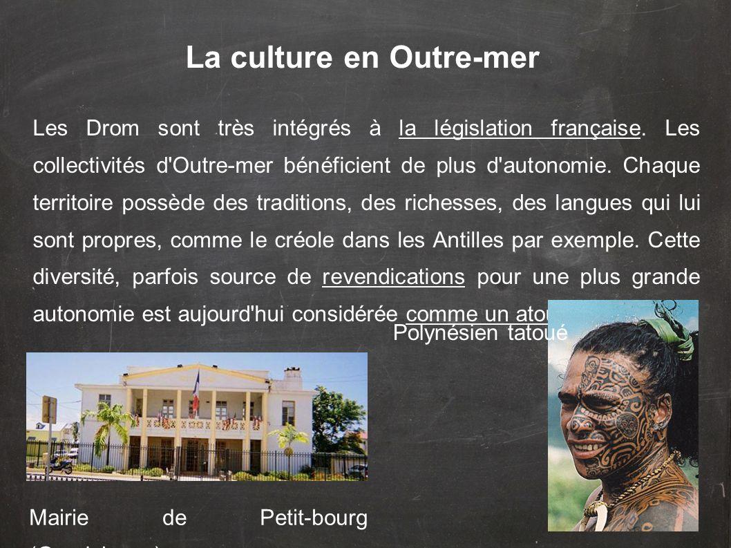 La culture en Outre-mer
