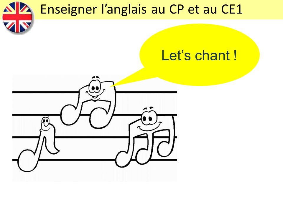 Enseigner l'anglais au CP et au CE1