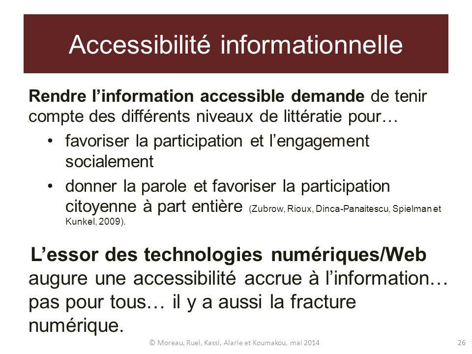 Accessibilité informationnelle