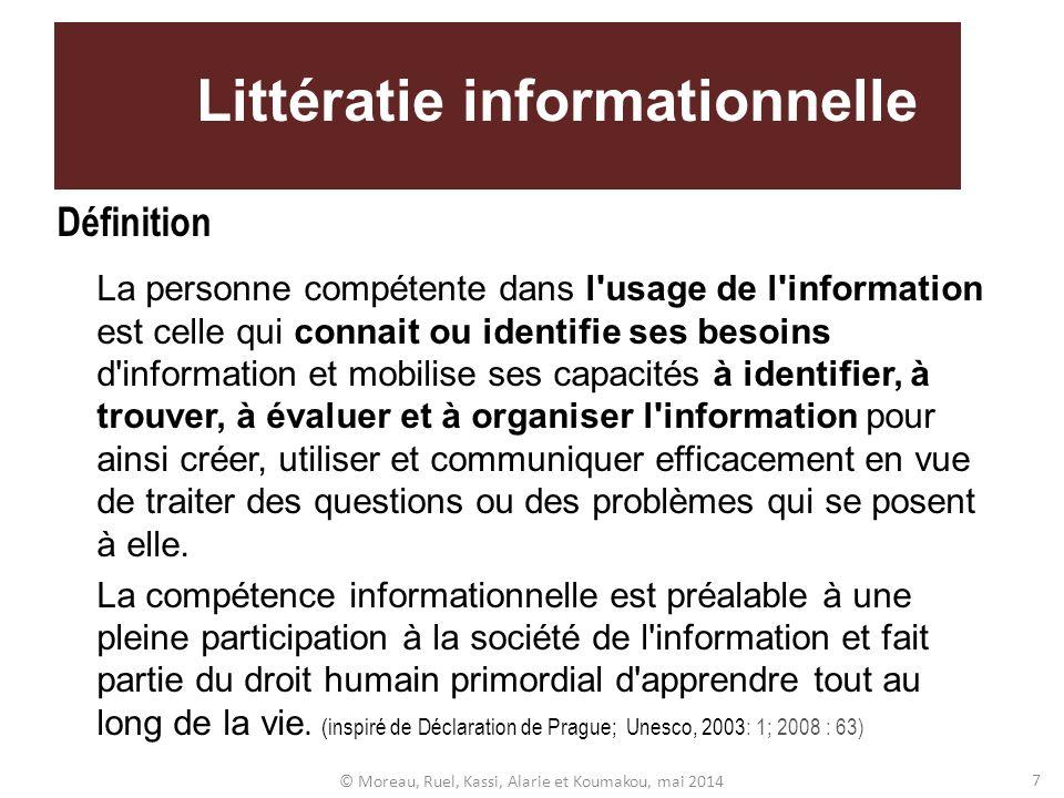 Littératie informationnelle