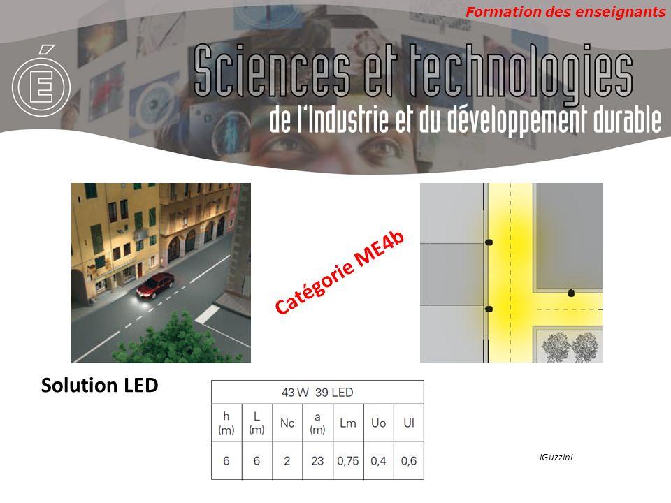 Catégorie ME4b Solution LED iGuzzini