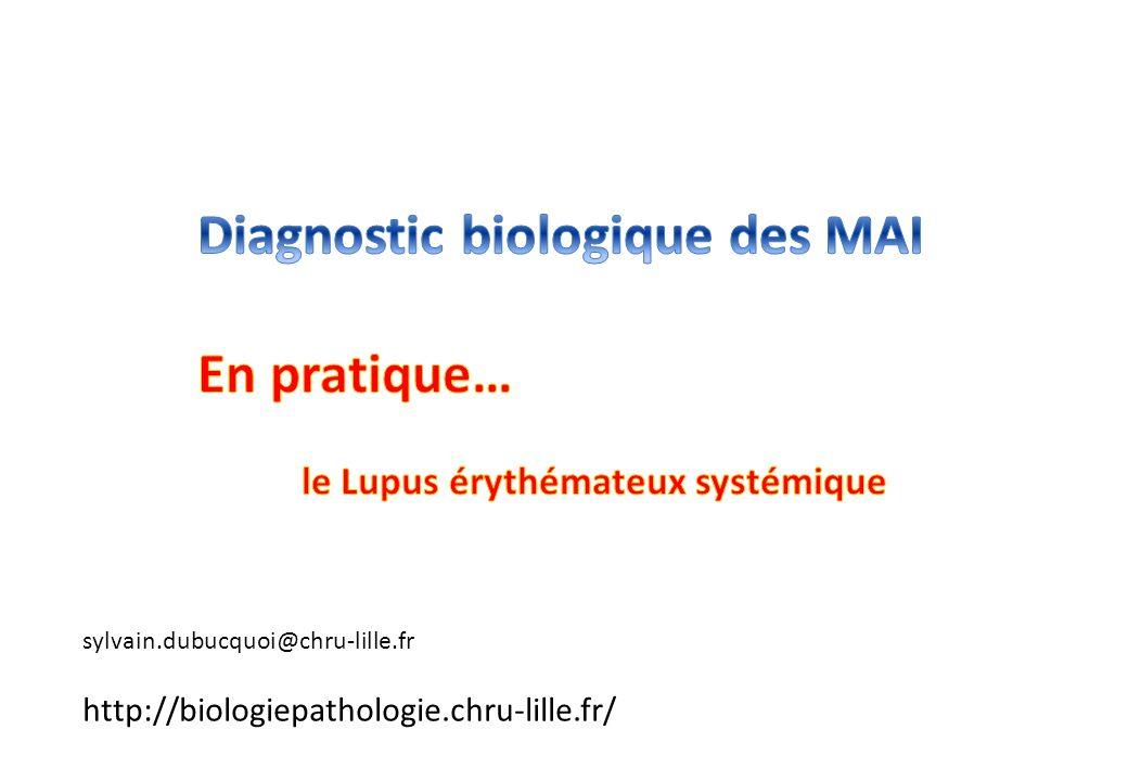 Diagnostic biologique des MAI En pratique…