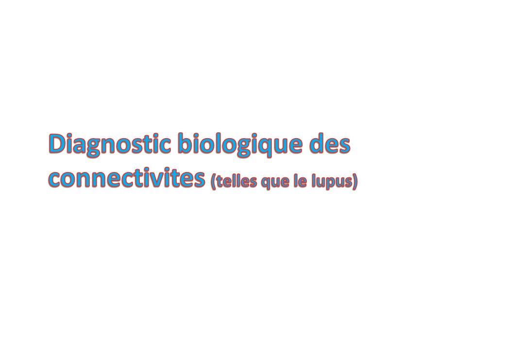 Diagnostic biologique des