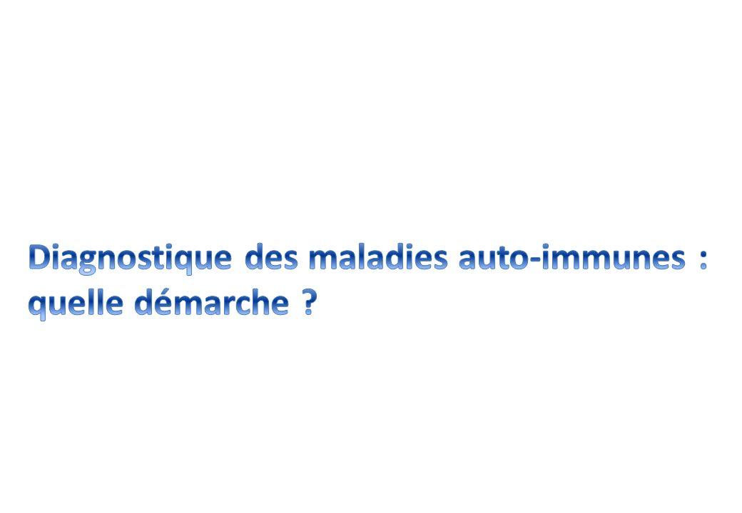 Diagnostique des maladies auto-immunes :