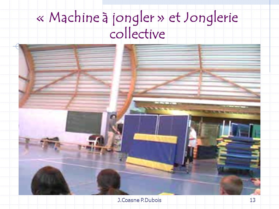 « Machine à jongler » et Jonglerie collective