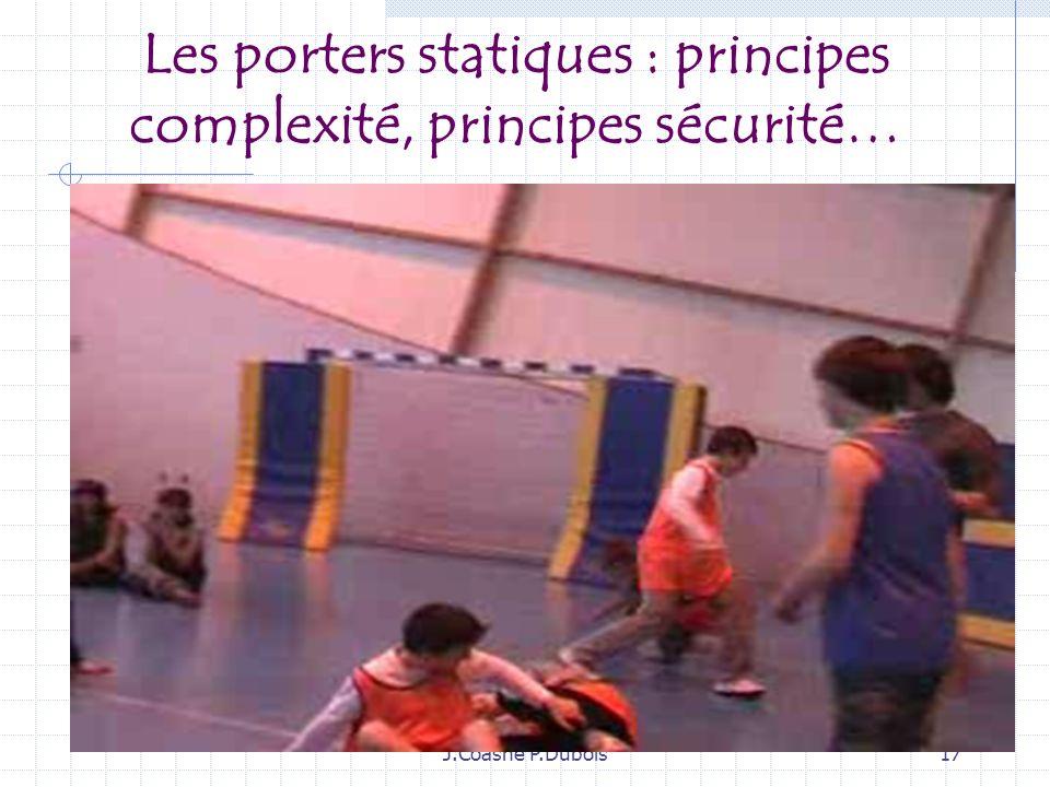 Les porters statiques : principes complexité, principes sécurité…
