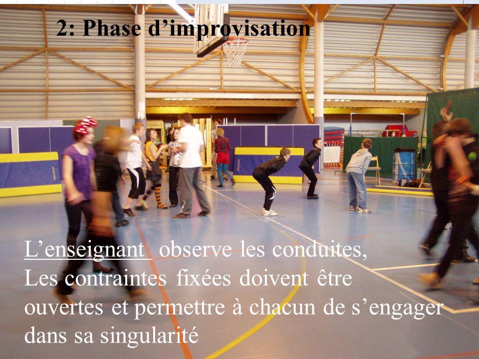 2: Phase d'improvisation