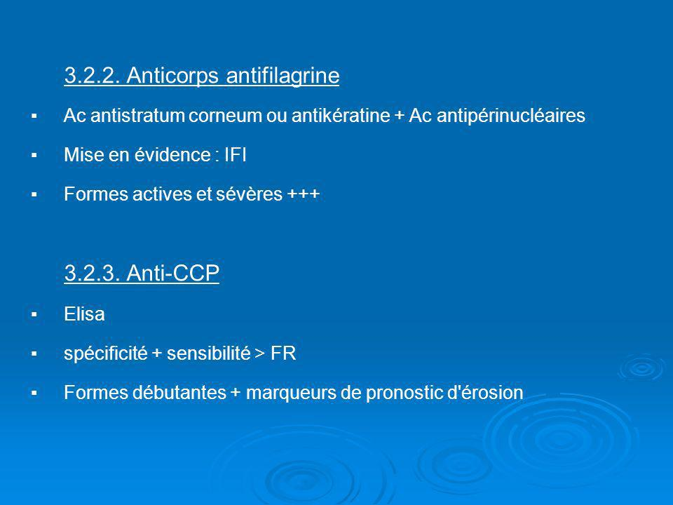 3.2.2. Anticorps antifilagrine
