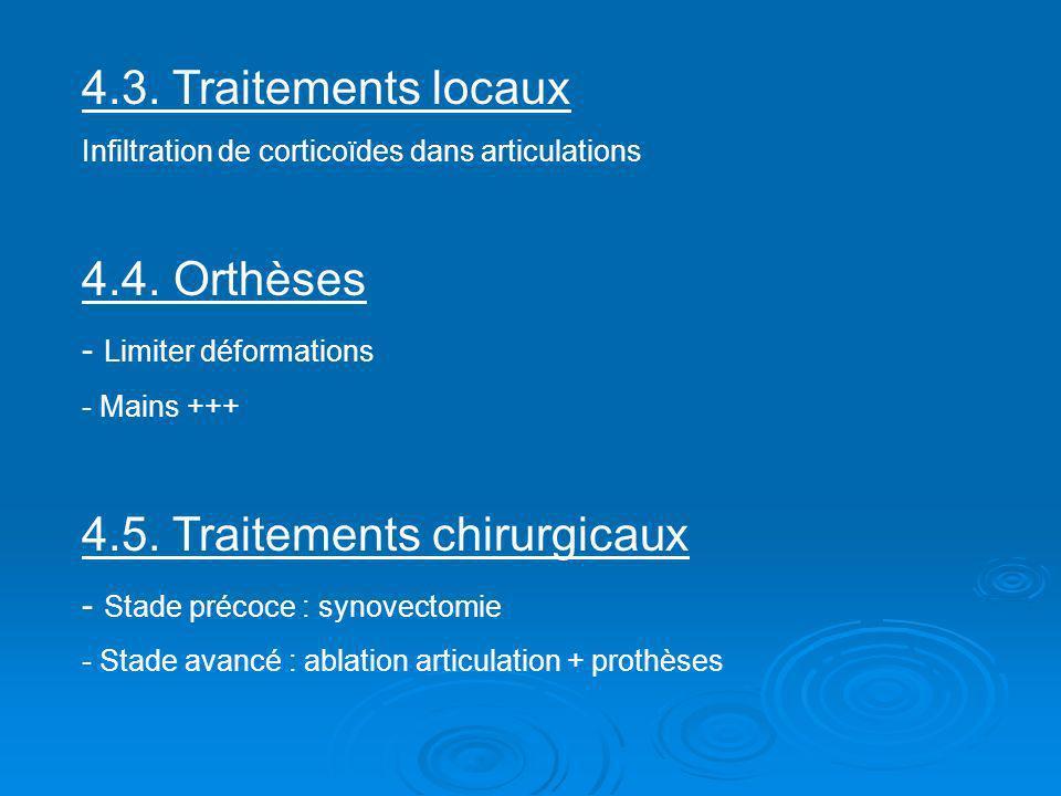4.5. Traitements chirurgicaux
