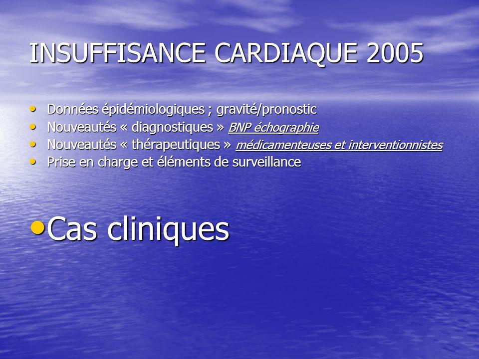 INSUFFISANCE CARDIAQUE 2005