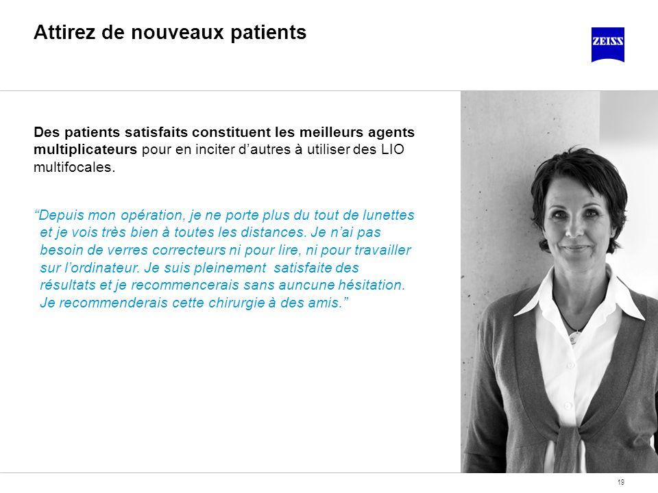 Attirez de nouveaux patients