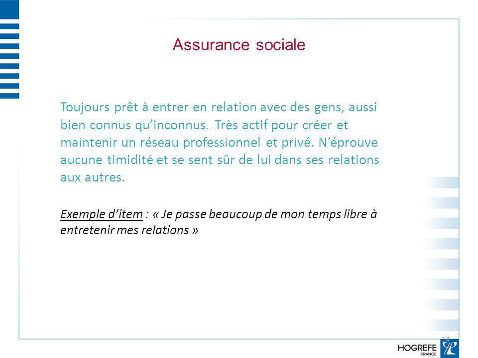 Assurance sociale