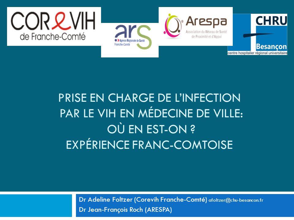 Prise en charge de l'infection par le VIH en médecine de ville: où en est-on Expérience Franc-comtoise