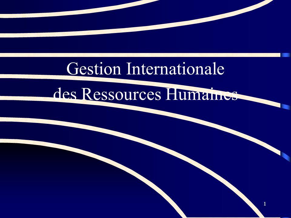 Gestion Internationale des Ressources Humaines