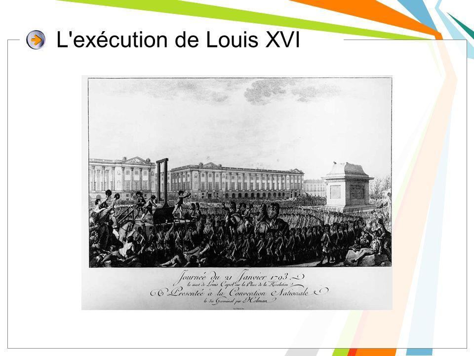 L exécution de Louis XVI