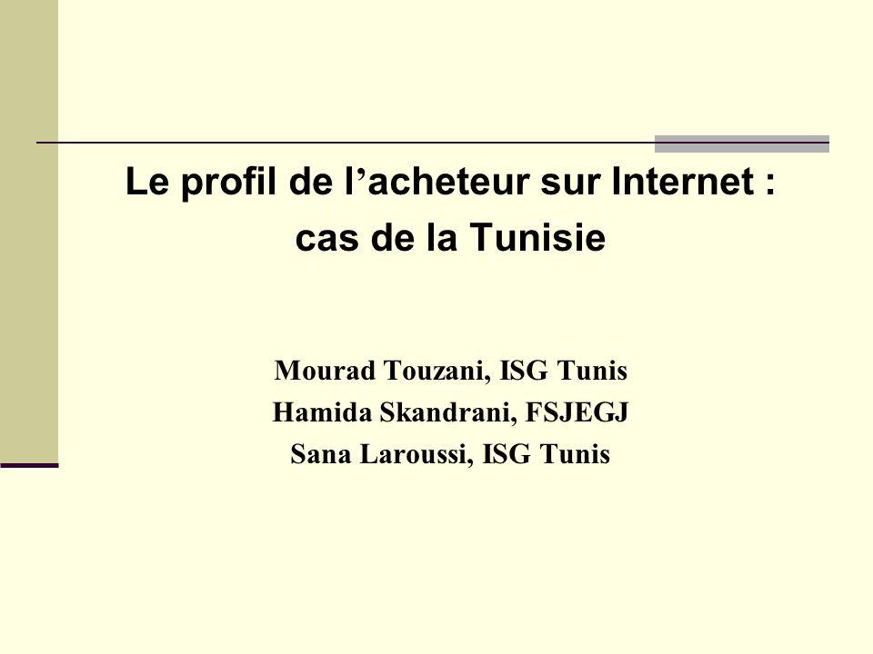 Le profil de l'acheteur sur Internet : cas de la Tunisie