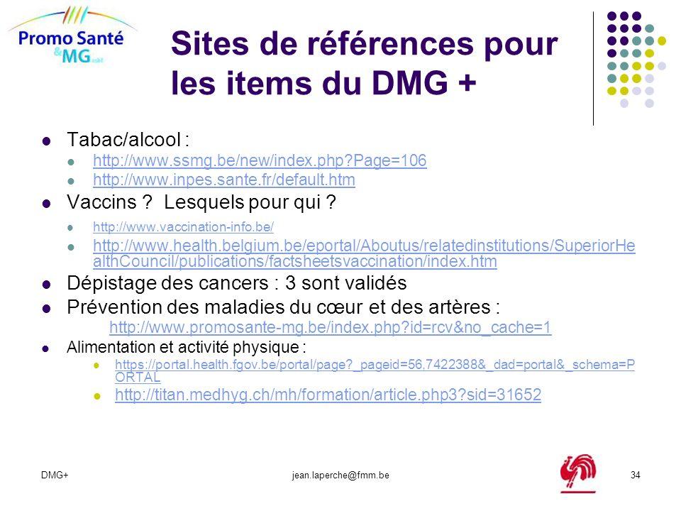 Sites de références pour les items du DMG +