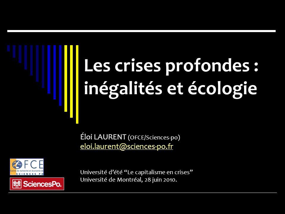 inégalités et écologie
