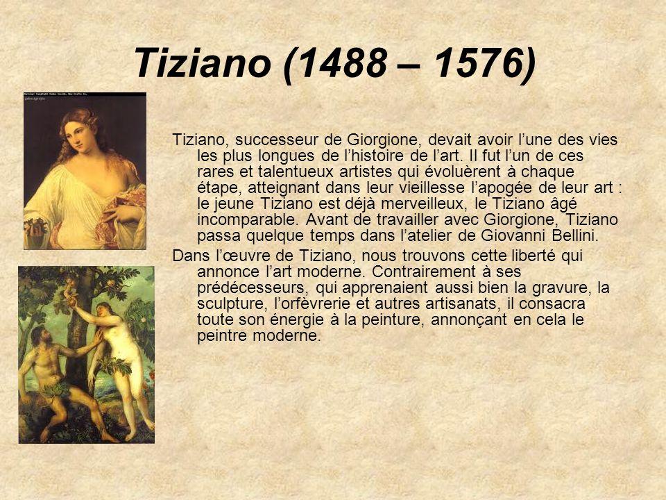 Tiziano (1488 – 1576)