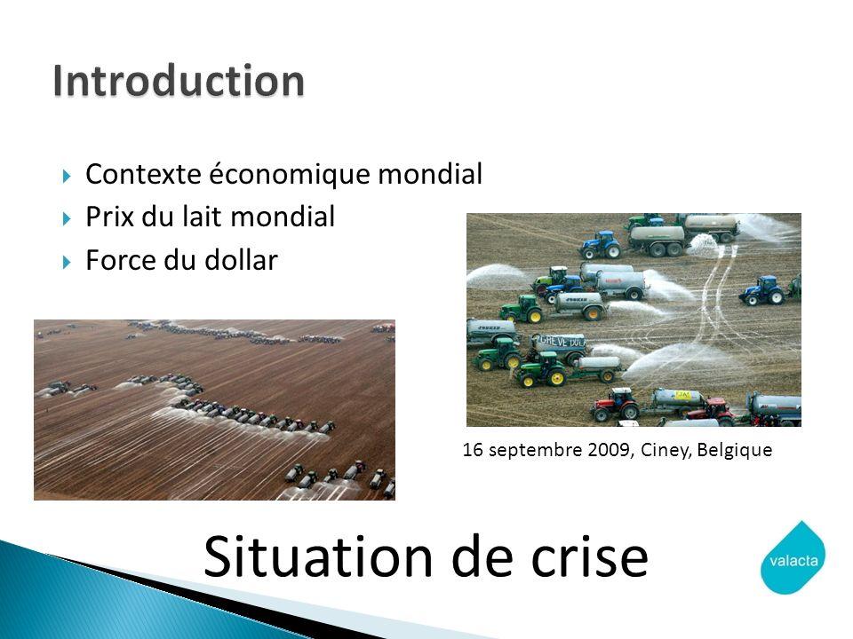 Situation de crise Introduction Contexte économique mondial
