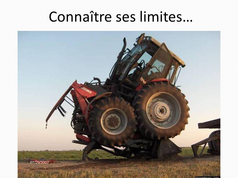 Connaître ses limites….